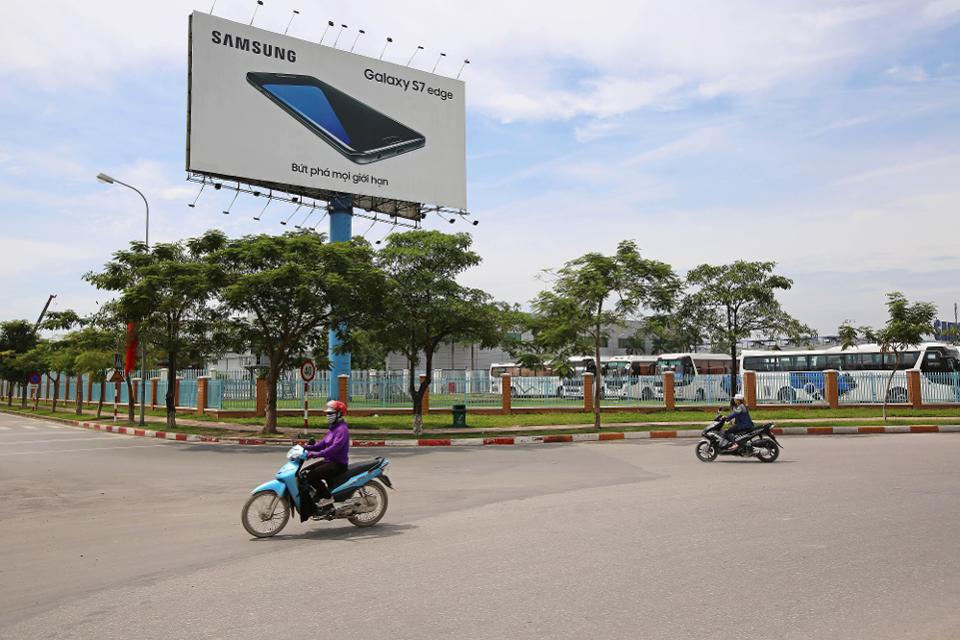 quảng cáo samsung ở Việt Nam